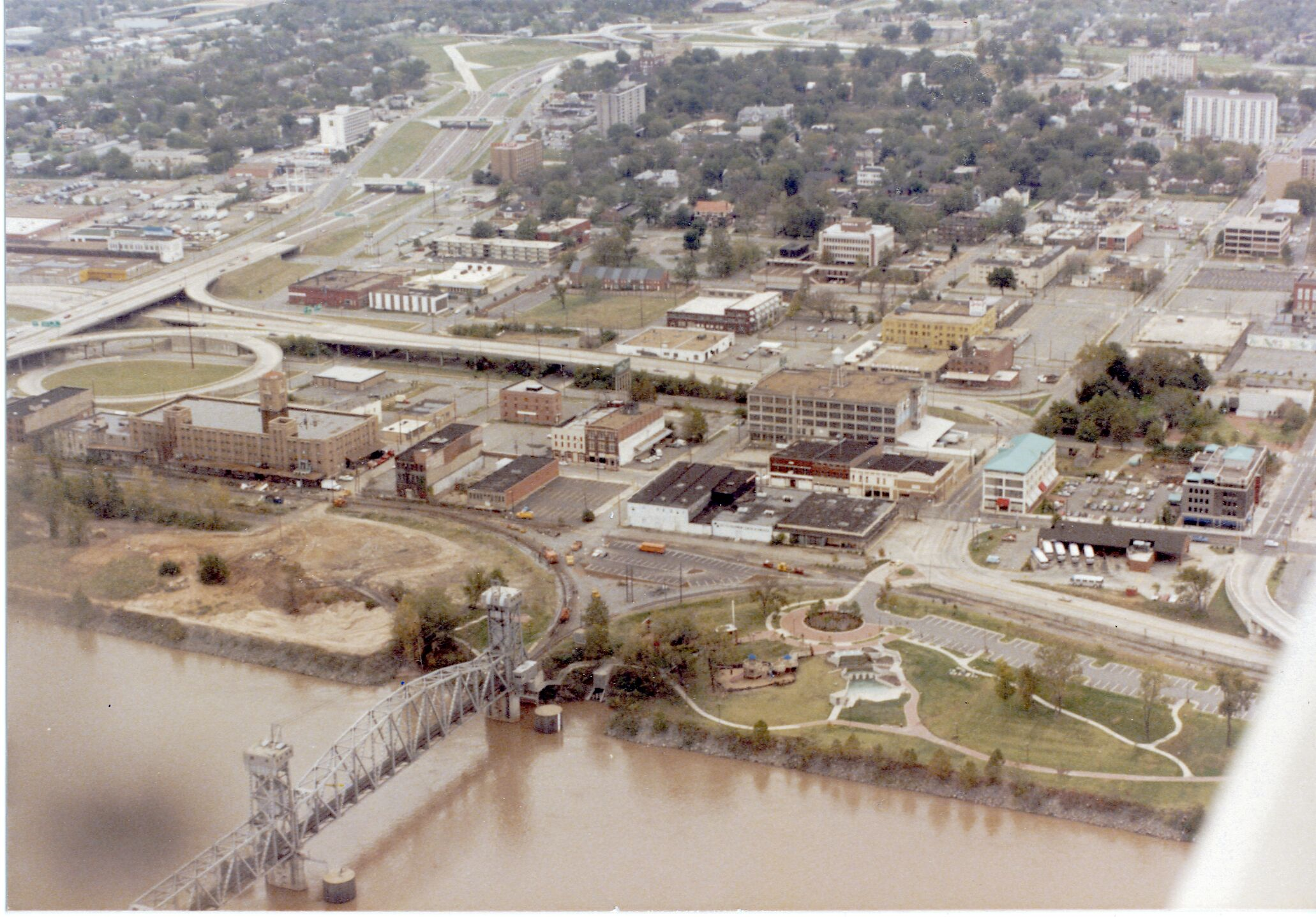 Aerial View - 1980's