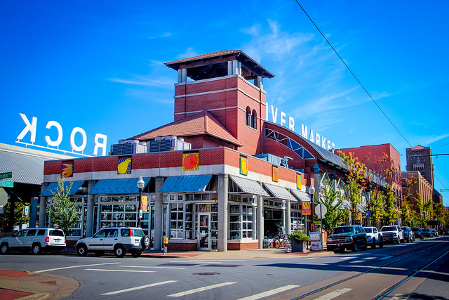 The bright, colorful River Market not only stemmed the blight and decay that had reached Little Rockís downtown but set the stage for future development.