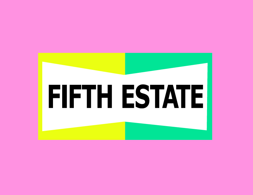 Fifth Estate logo by Ron Wong.