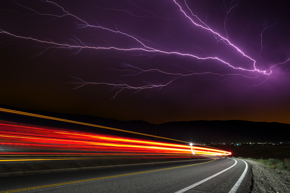 Kinetic energy gives drivers the electric power. Image via Neil Lockhart/Shutterstock.