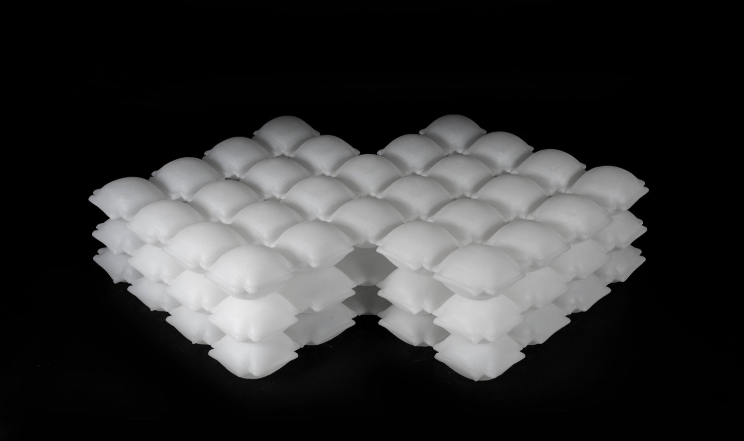 Self-inflatable fabrics will soon be a big deal soon. Image courtesy of BMW and MIT's Self-Assembly Lab.