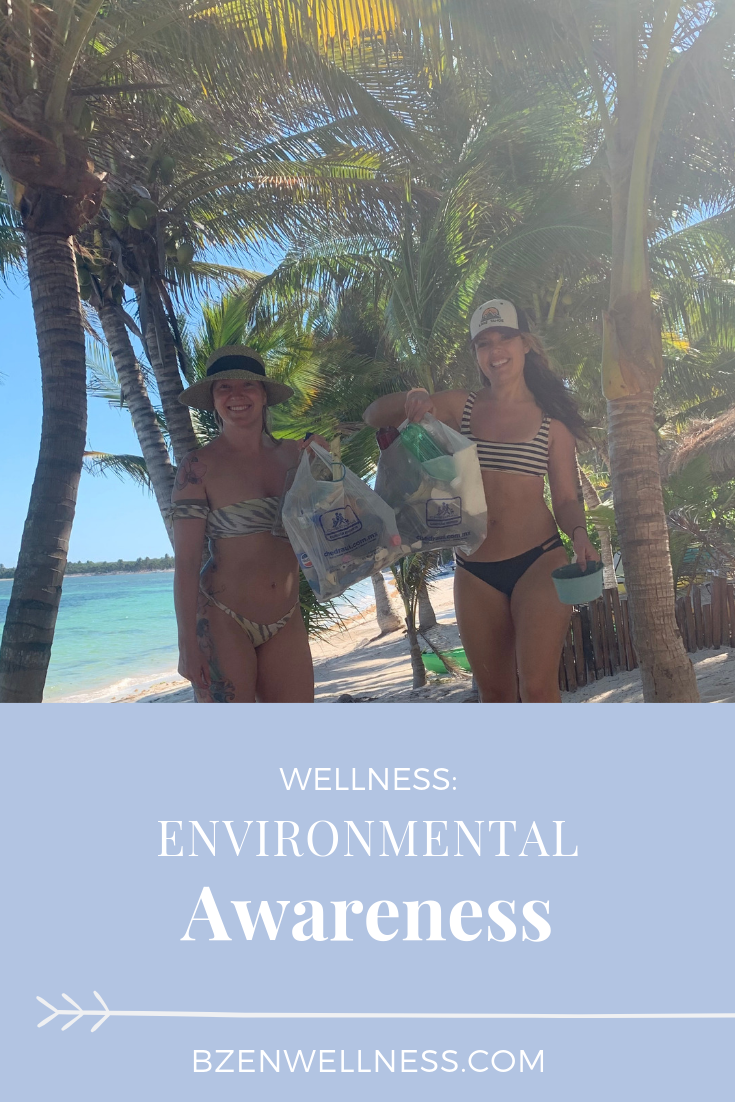Amber and Brittany picked up trash while on vacay in Mexico.