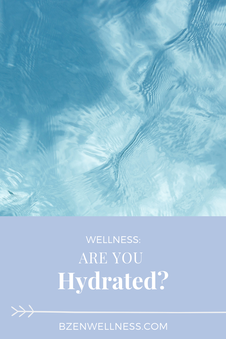 Our bodies are 60% water. Every system in our body requires water to properly function. Are you serving your body in a way to function at its highest capacity?
