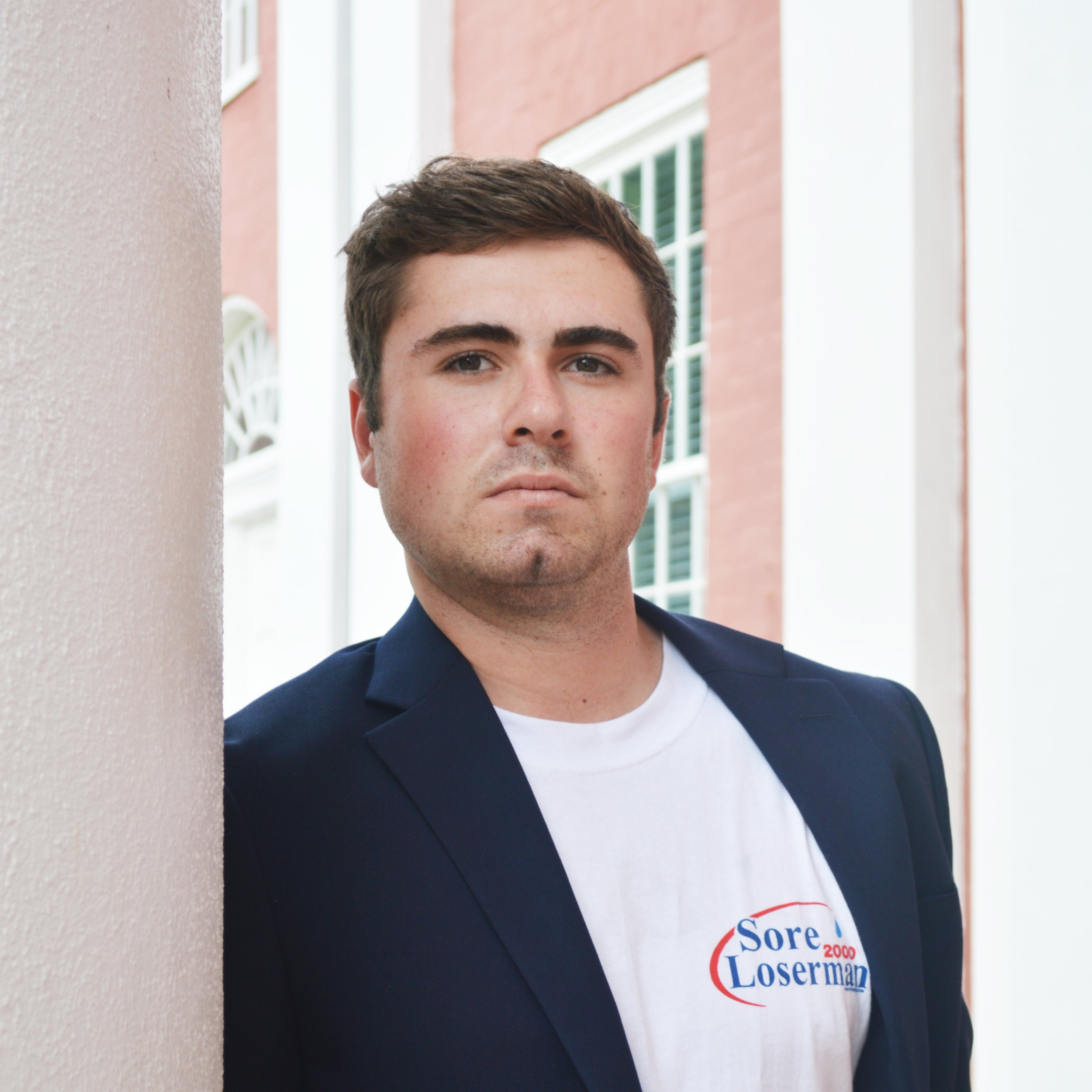 John Tompkins - Tompkins will also graduate with a major in American politics. He is still pondering his next step in life.