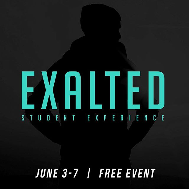Hey TSM, On Friday June 7, we will be joing our friends over at @magnolia_church @maghighschool @magmiddleschool for their Exalted Student Experience! We will be meeting at Temple @ 4:30pm and leaving around 4:45pm Friday. The event starts at 6pm, and will end at 9pm. Grab something to eat before heading to the church. We will provide some snacks as well. Can't wait! Hope you can join us😎👊🏼 #stumin