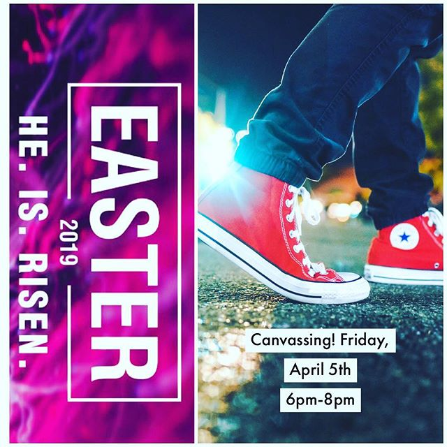 Hey Students! We are getting in on the action! This Friday don't forget we are meeting up at the front of the church at 6pm sharp! We will be going to different businesses in our community to invite for Easter! Then we will be heading over to Pieology here in Perris for some pizza around 7pm! We will be having sign ups this Wed night, and we will be making driving arrangements! Hope to see you there! #tbcperris #outreach #youthministry