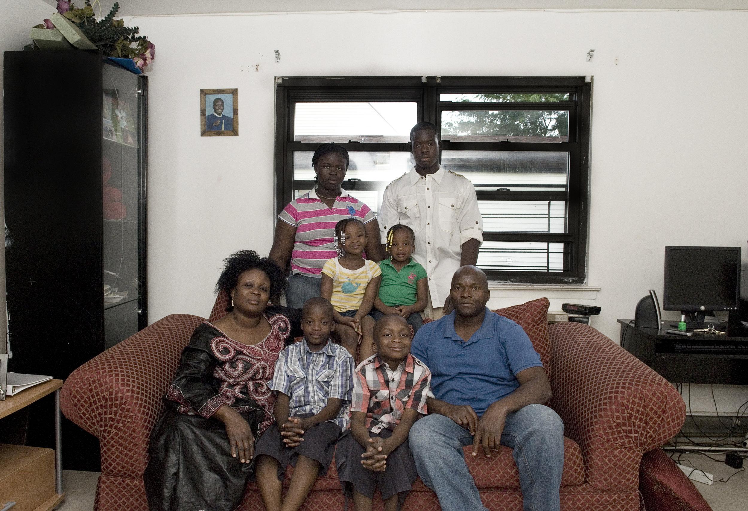 Kaba's family.