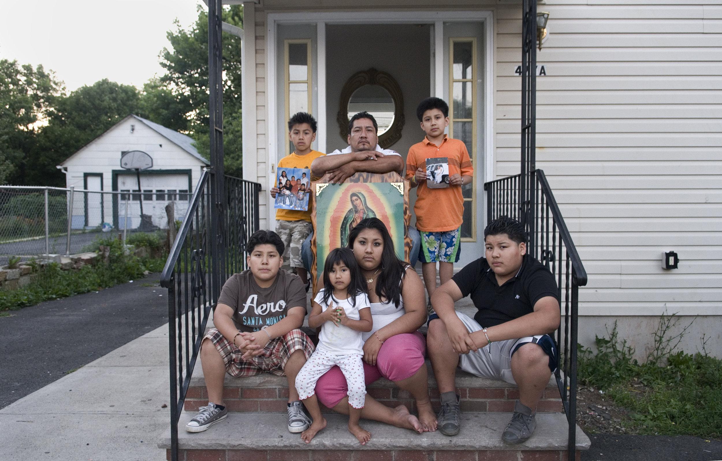 Martinez's family.