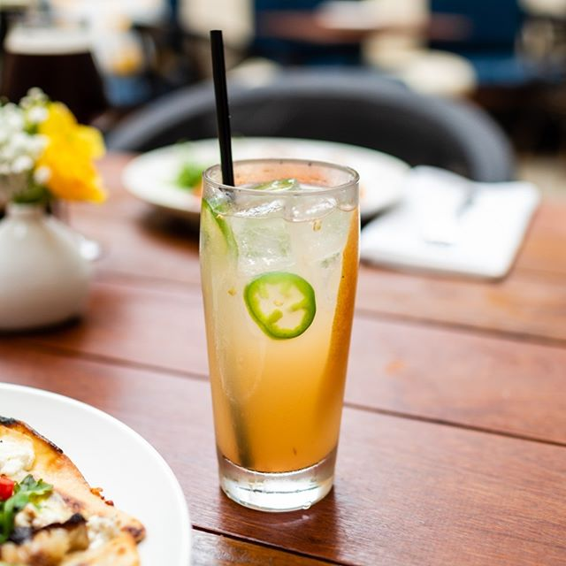 Come try our Smoked Paloma. It may have a smokey kick to it, but it's great for this weather. This cocktail is finished with fresh jalapenos, a splash of grapefruit and orange peel!  #Cocktails #Do512 #AustinEater #Austin360 #CocktailProgram