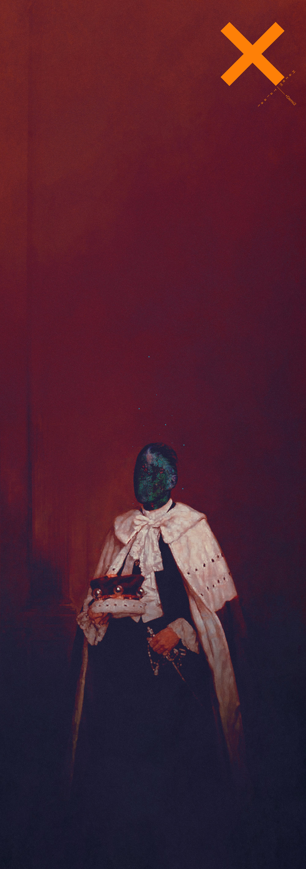 Herbert James Gunn_ painting_ rembrandt_ digital painting_hazem talaat
