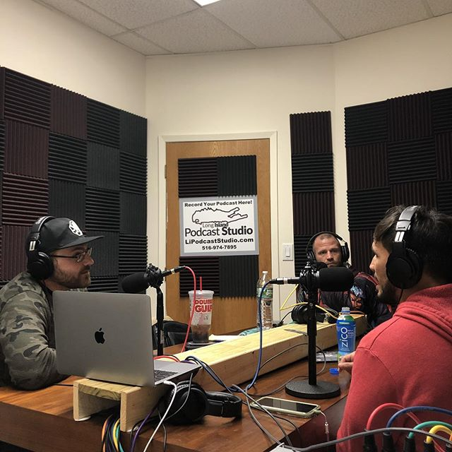 #Tuesdaynights with #themenaceandtheman at #lipodcaststudio. Check them out on #iTunes, #choking #out the #mma #content #competition #weekafterweek  @menacebermudez  @tapnapsnap @ericthegentleman