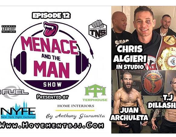 Last #Thursday, #menaceandtheman #podcast was #onefortgeages; #winners of their fights from the previous weekend @menacebermudez and @chris_algieri talk about their victories and what's next in line for the #menace after his #lastfight. Check them out on iTunes and look for more #great #context from this crew on the regular. . . . . @tapnapsnap
