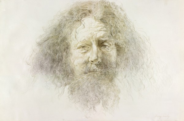 Silverpoint on parchment, 2012