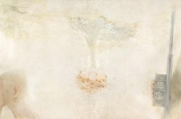 Oil on parchment, 2015