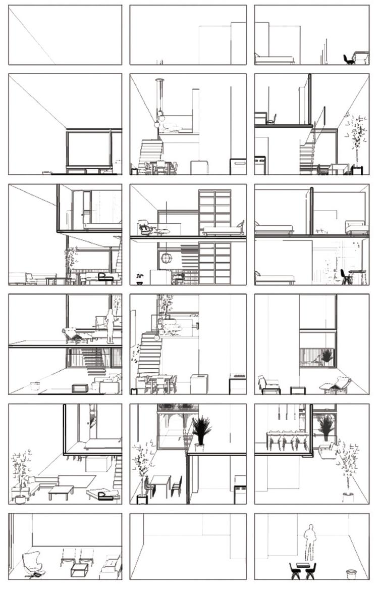 Conceptual Cross Section, Superlofts, Amsterdam, Mark Koehler Architects