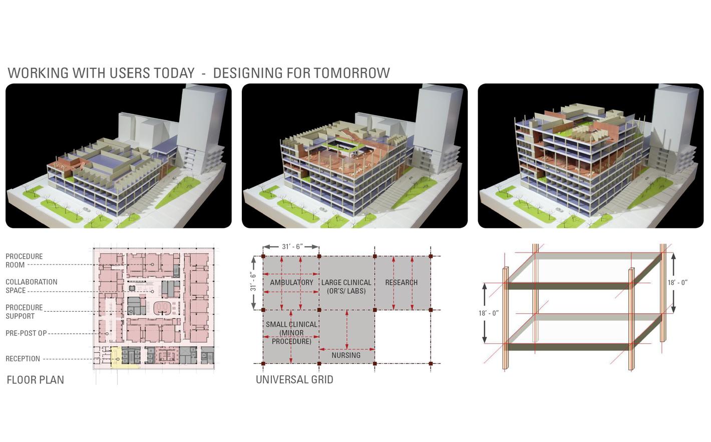 Gates Vascular Institute, University Hospital, Buffalo NY: Cannon Design with Yazdani Studio
