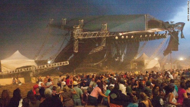 Indiana State Fair Stage Collapse — 2011
