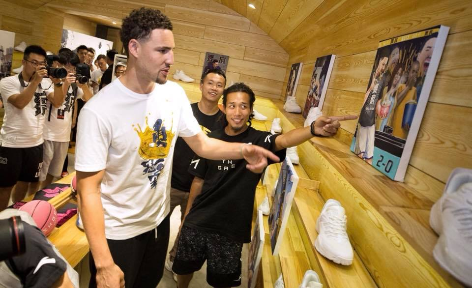 Klay Thompson China Tour 2018