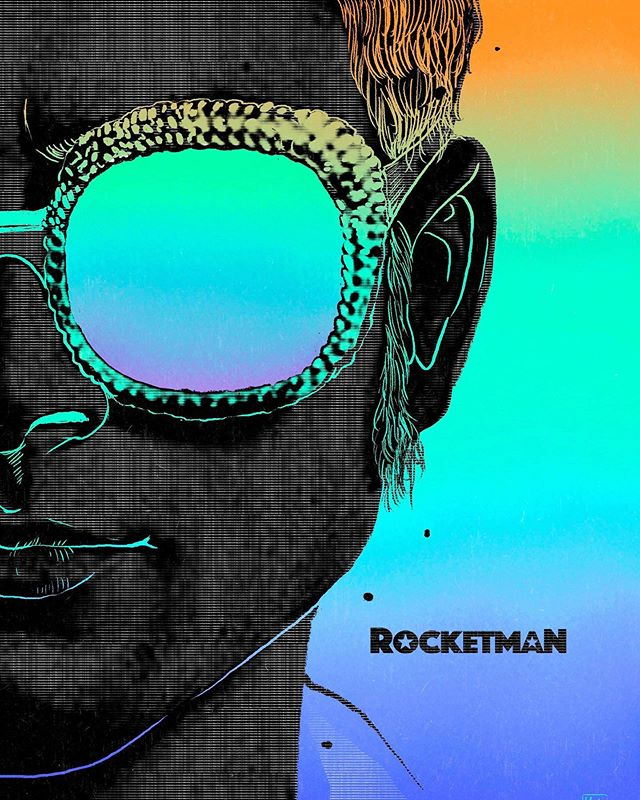 Are you ready for another great artist movie after Bohemian Rhapsody? @rocketmanmovie @eltonjohn @taron.egerton ! #illustration #illustrator #taronegerton #movie #eltonjohn #director #dream #style #illustrationagency #trend #fashionstyle #rocketman #film #music #portrait  #newyork #newyorkcity #nyc #illustrationartists #film #branding #advertising #editorialillustration #插畫 #插畫家 #illustrationagency #film