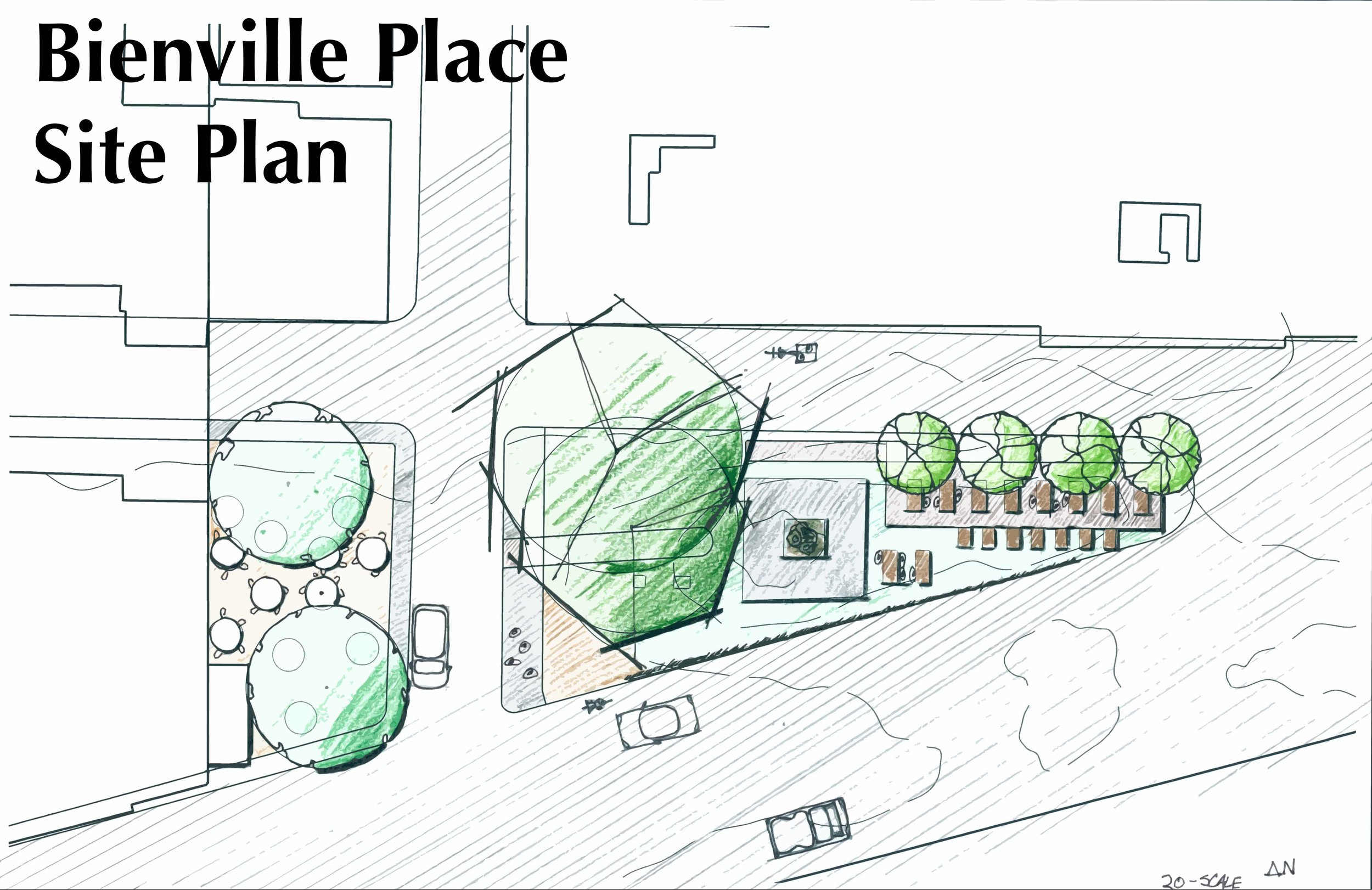 Bienville Place - Plan View