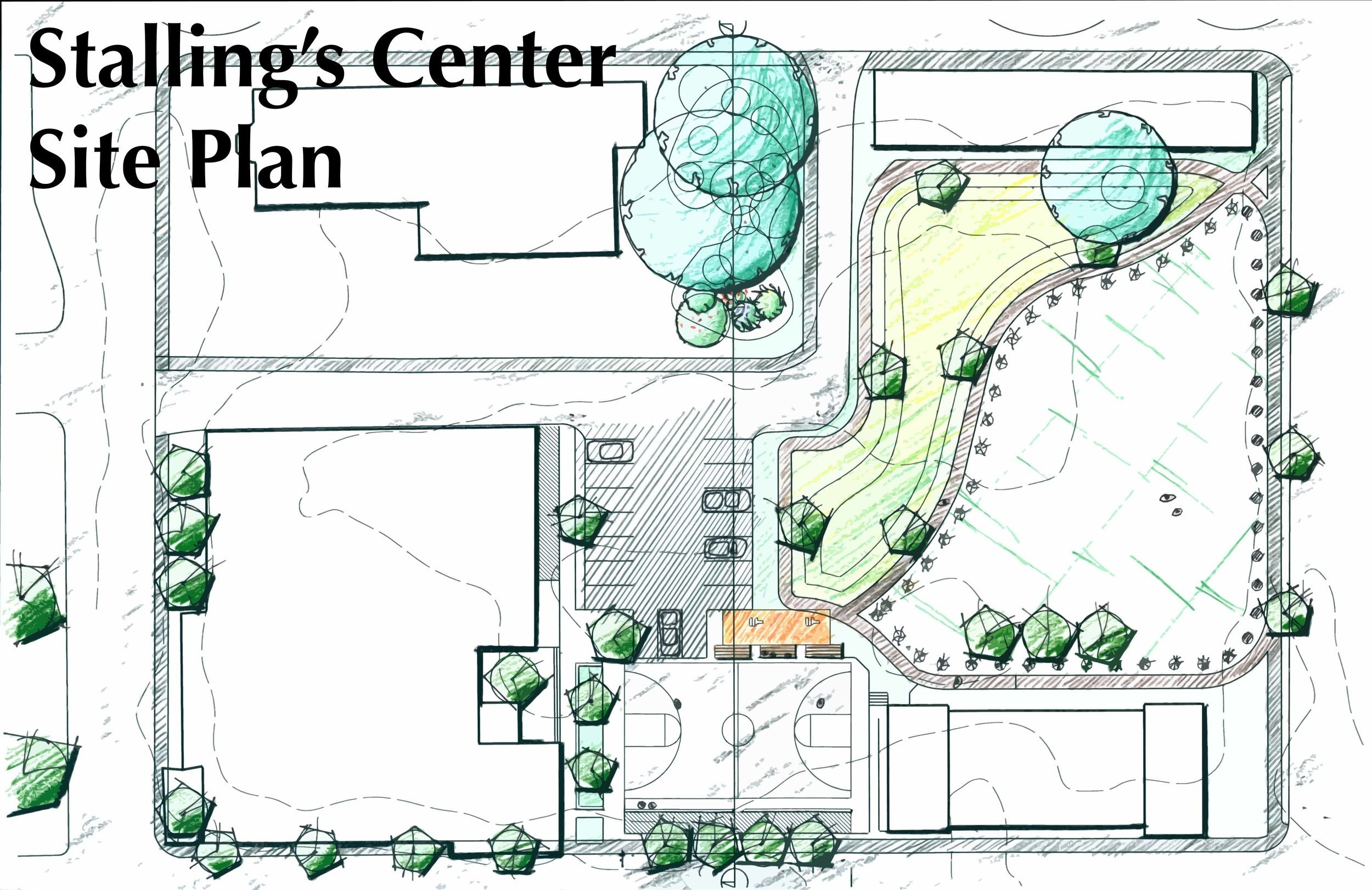 Stallings Center - Site Plan