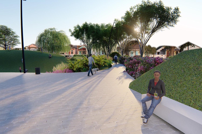Perspective #2 - Olivier plantation