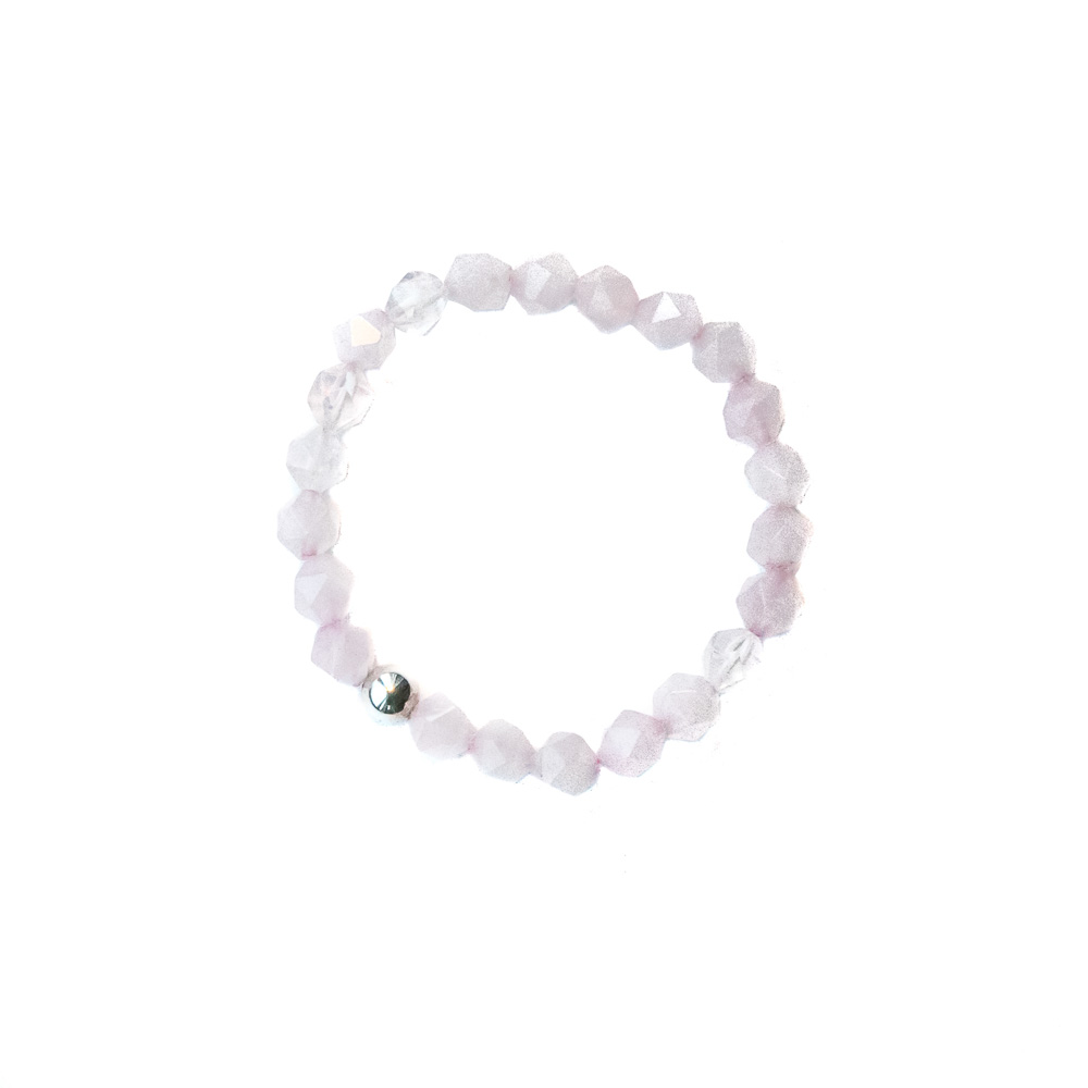 "Rose Quartz   ""Love Stone,"" attracts unconditional love, soulmates, passion."