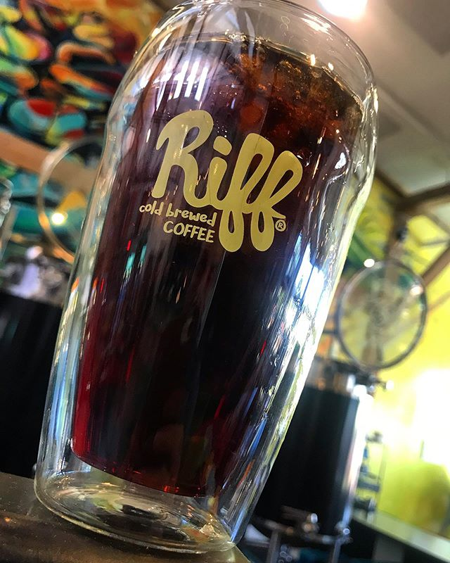 Visiting one of this year's Cold Brew Fest winners!!! @riffcoldbrewed stay tuned as we will be sharing more about their story on our website!!! . . . . . . . . . #coldbrewfest #coldbrewfestival #coldbrew #coldbrewcoffee #bend #oregon #pdx #vancouver #bendcoffee #nitrocoldbrew #coldbrewcoffeemaker #coffee #caffeine #coffeelover #coffeeshops #coffeestory #thursday #thursdaymotivation #riffcoffee #coffeelover #barista #cheers