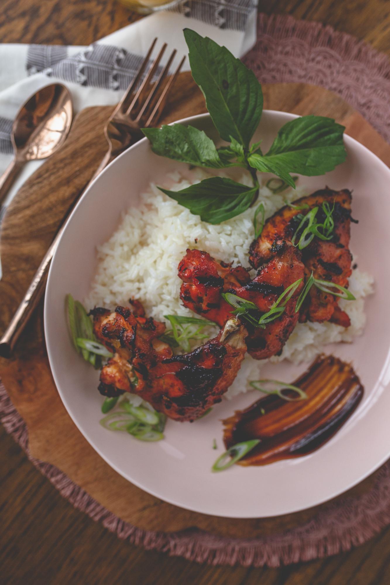 - Thai Chicken Wings