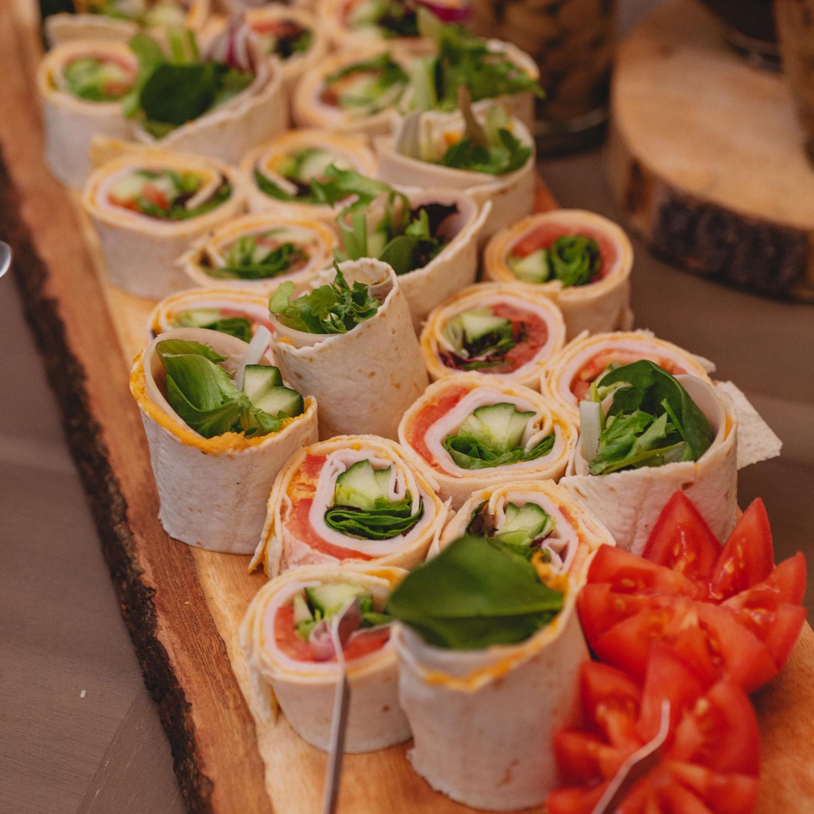 - Roast Turkey Pinwheels