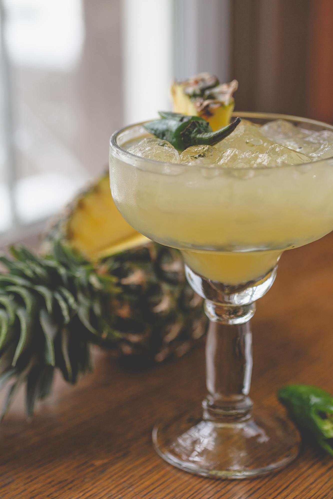 Pineapple Jalapeno Margarita - get the recipe….