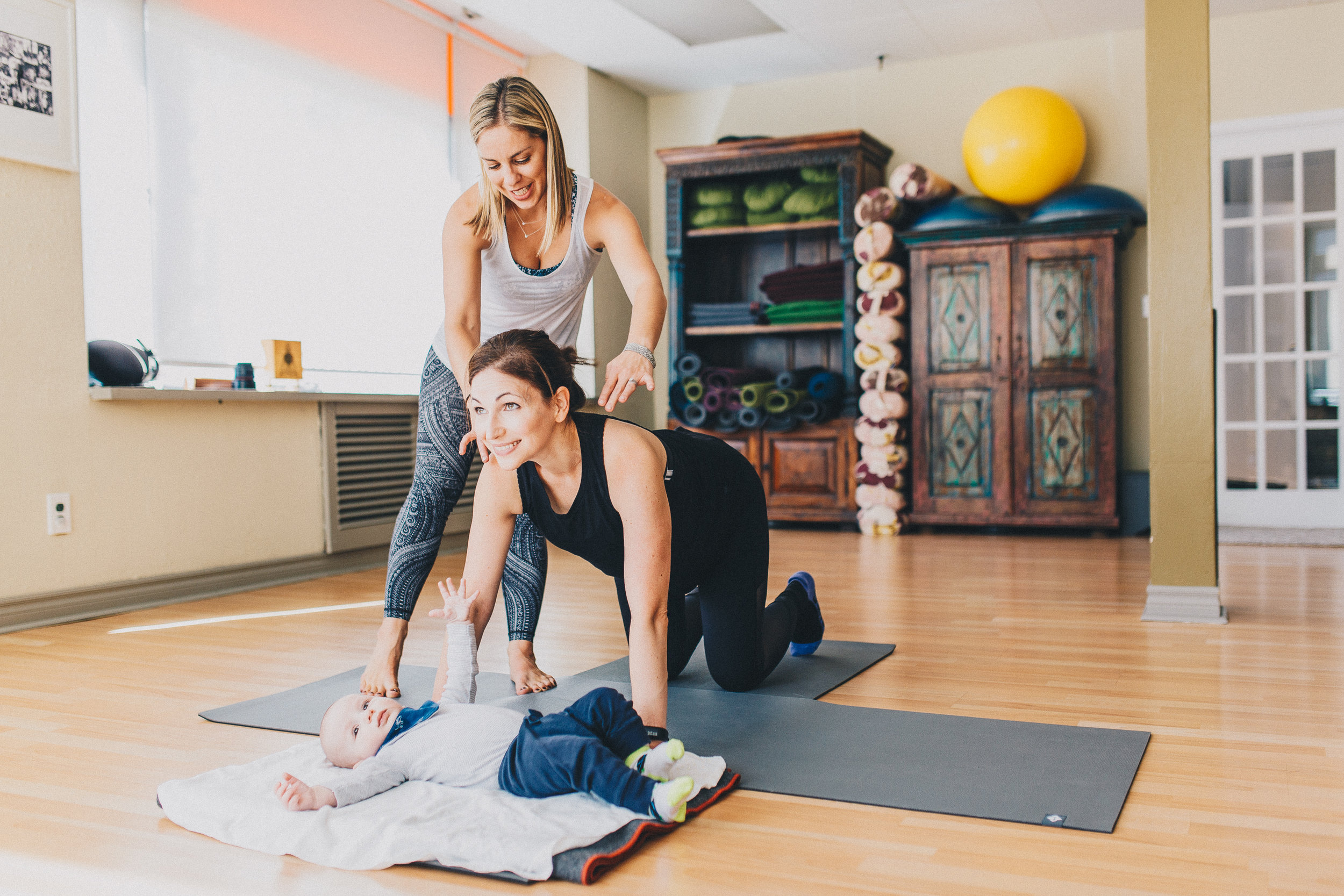 Imprint Pilates, Yoga, Mom and Baby fitness Toronto, Prenatal and  Postnatal Pilates , Anita Ivic