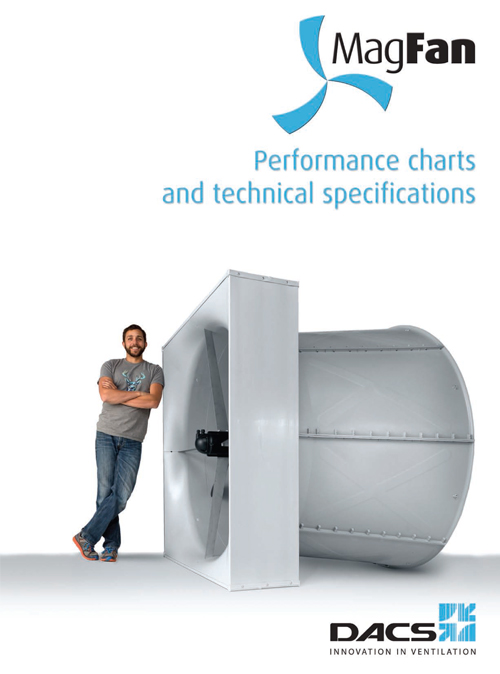 MagFan Performance Charts and Technical Specifications