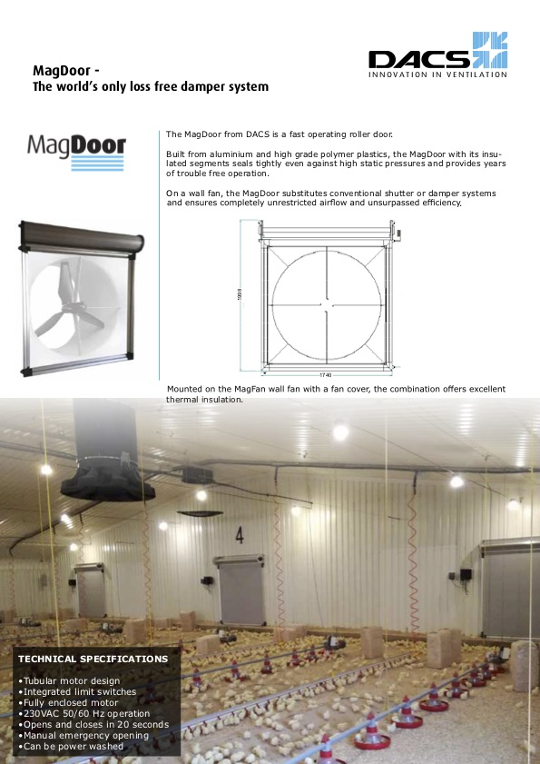 MagDoor Product Information