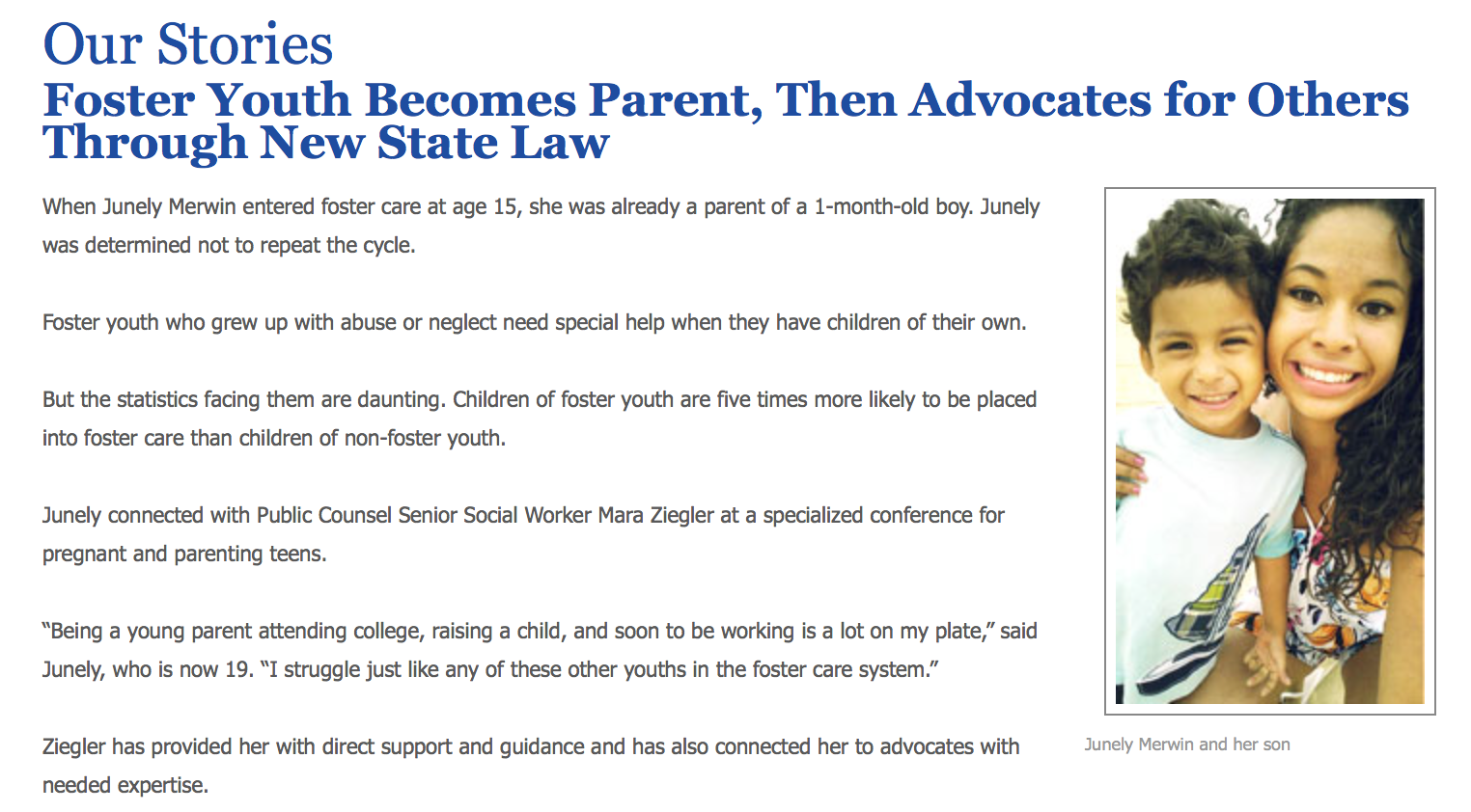 September 2013, Governor Jerry Brown signs SB528 into law. Click on image for more details.