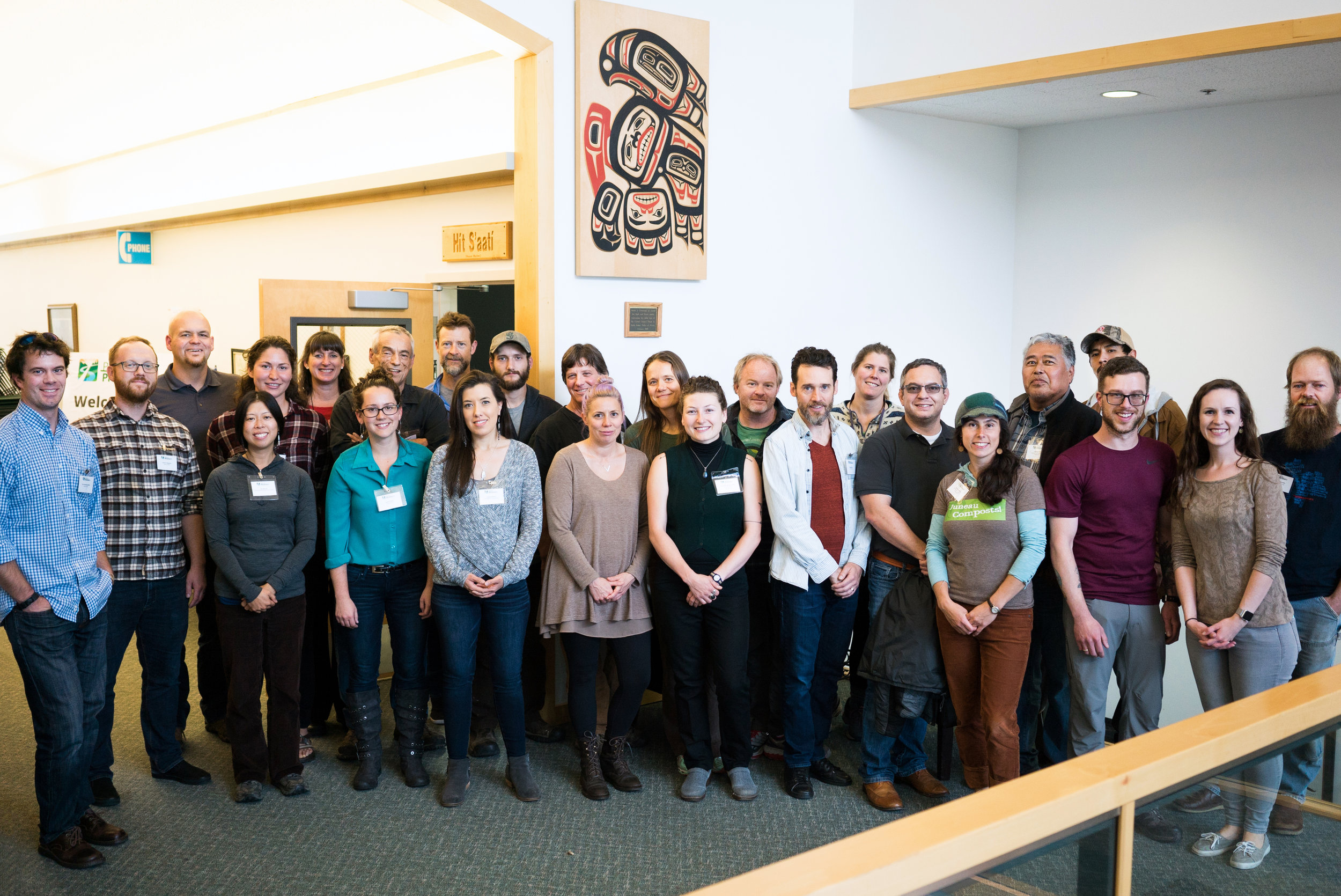 Last year's cohort from the Spruce Root Path to Prosperity boot camp. (Photo by Element Agency)