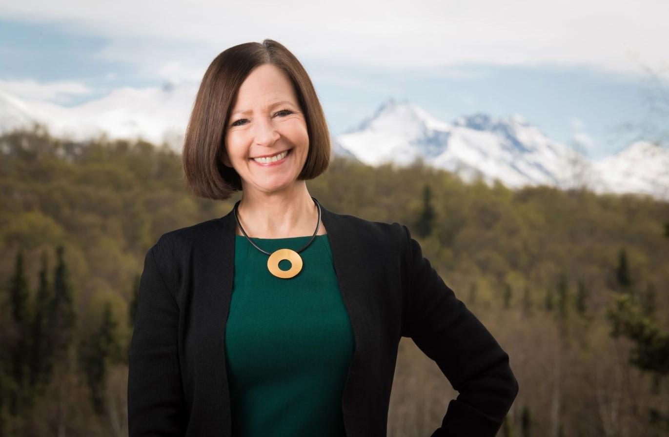 Cathy Sandeen, the University of Alaska Anchorage Chancellor. (Photo by James R. Evans/University of Alaska Anchorage)