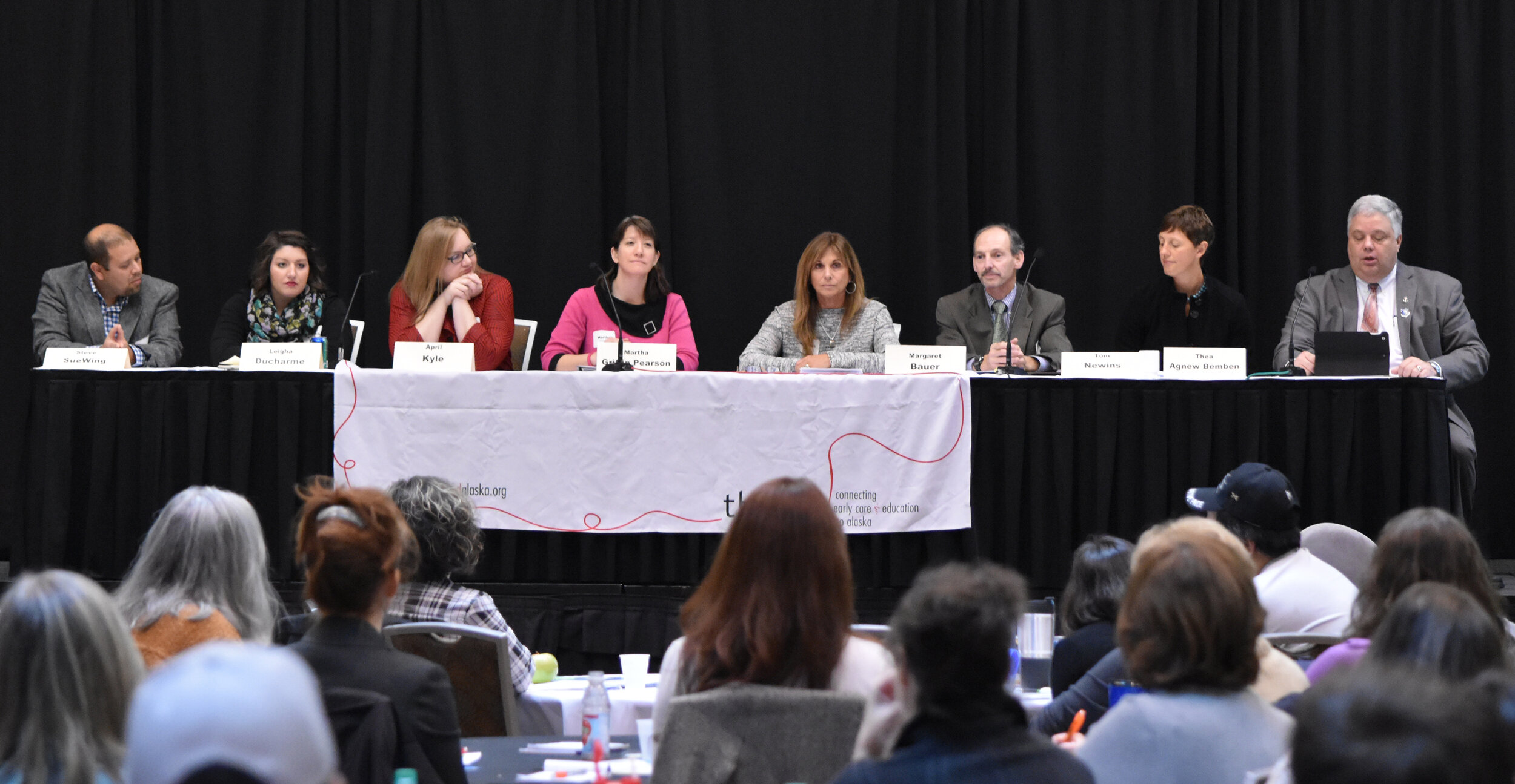 A panel discussion from the 2017 thread summit (Photo courtesy of thread).