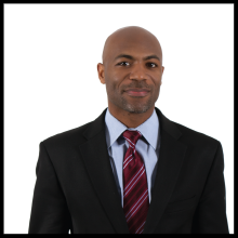 Erek L. Barron  Age: 38 Category: Public Service Location: Mitchellville
