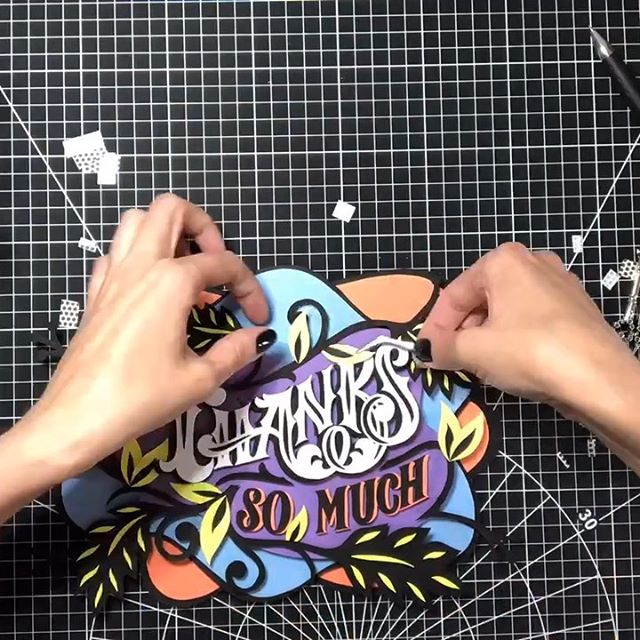 Congratulations @cynlopink for winning this giveaway. It was my pleasure to give one of my paper cuts away. Thank you all who participated, I am sure I will few more in the future. . . . #giveaway #papercuts #paperart #papercraft #papercutting #papercuttingart #lettering #typography #dexterity #workingwithhands #handmadeart #goodtype #handmadefont #typemmatters #thankyou #typewip #typegang #typographydesign #type #paperartist #paperartistcollective #ligaturecollective #totallynutspapercuts #typespire #lovepaperart #lovelettering