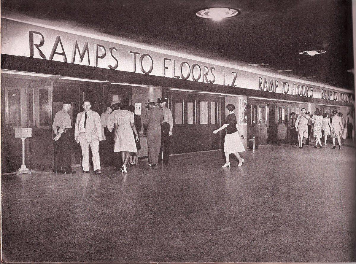 The Pentagon concourse in 1944. Photo:   Department of Defense  /Public Domain