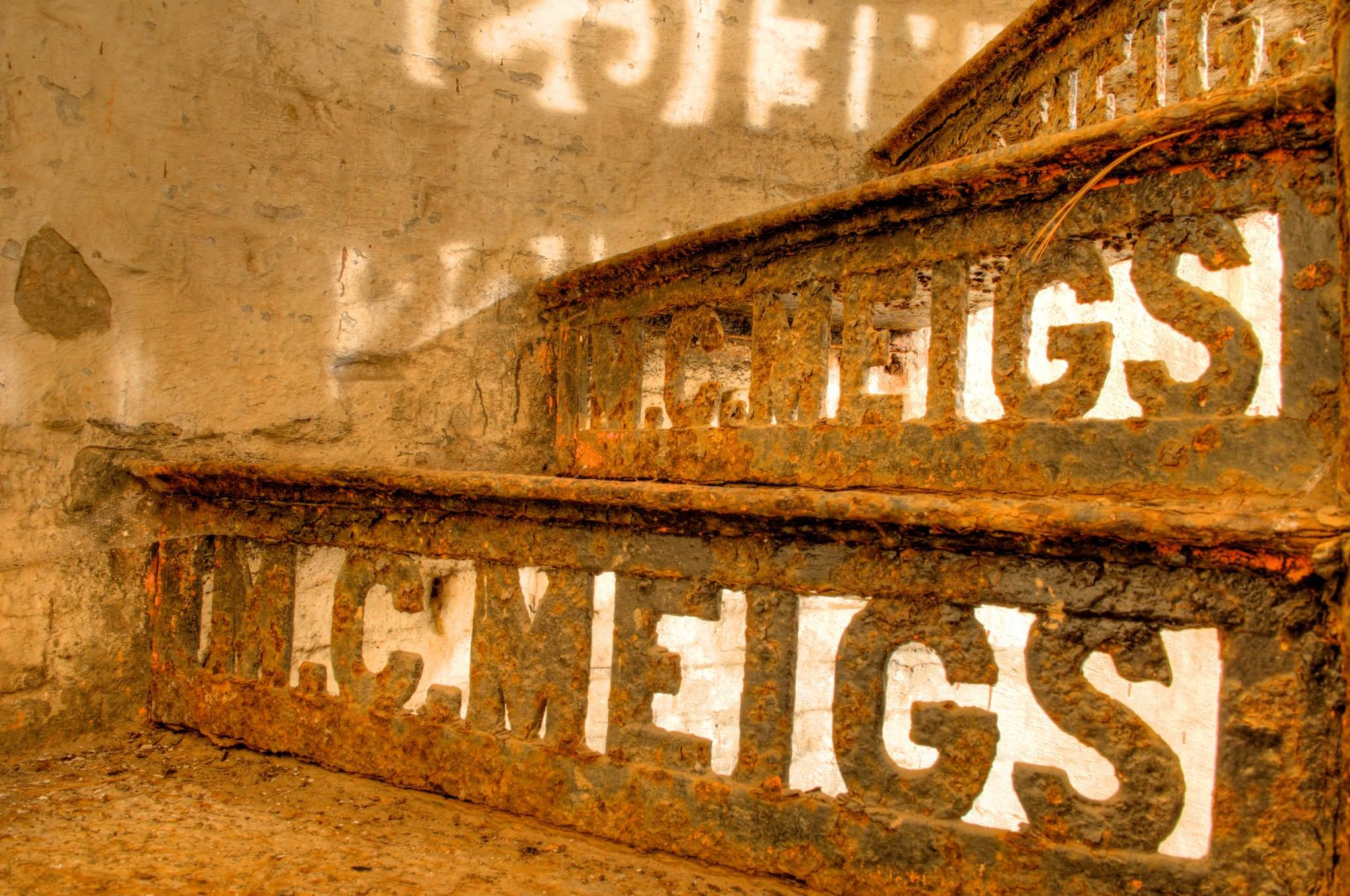 Washington Aqueduct Montgomery Meigs Vault Stair Risers