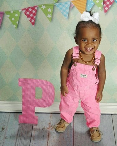 Princess Penelope on her 1st Birthday <3