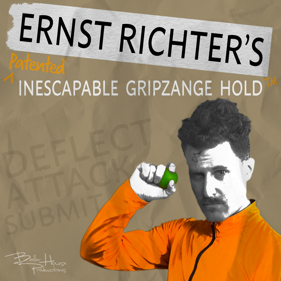 Ernst Richter's Patented Inescapable Gripzange Hold