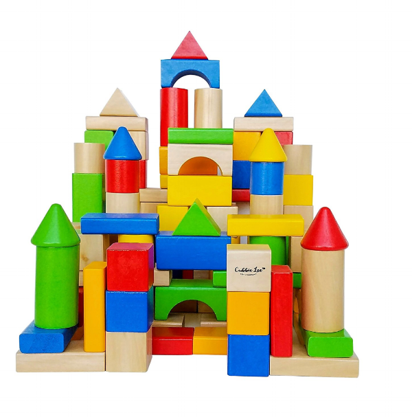 Two-Four Years Old - Ask your child to provide you with directions while and you follow his directions as you build a tower of blocks. I like blocks like these because they also allow you to stimulate language because you can also talk about the color and shape of the blocks. Lay on the floor with your child, make eye contact and have fun!