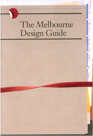 Melbourne Design Guide
