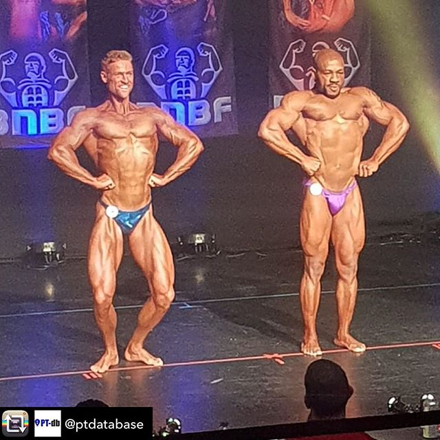 from @ptdatabase  Huge thanks to @miss_bikini_suits for sorting me out with my royal blue posing trunks for the BNBF show on Saturday, amazing day, great show and great result 🏆🙏🏽😁 #missbikinisuits #savagedivas