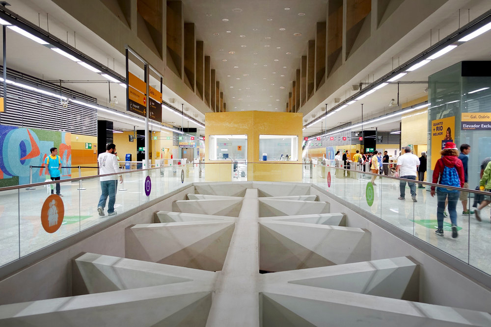 New Metro Station Rio's West Zone Barra da Tijuca.jpg