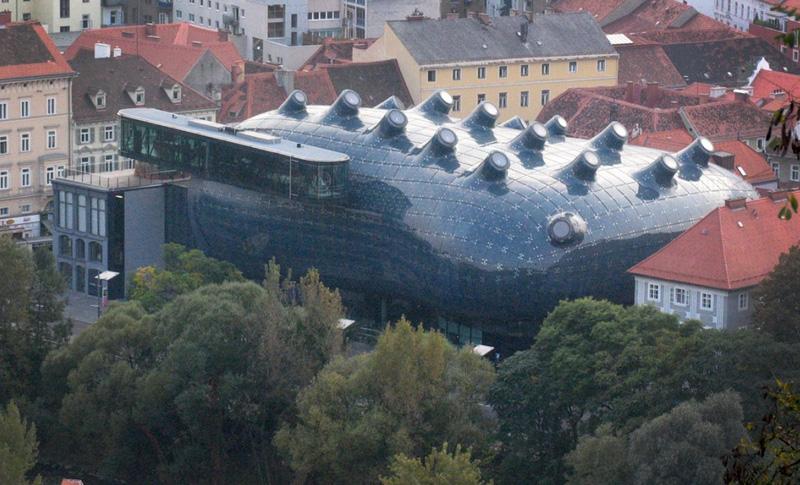 Graz/Ljubljana   When someone says « A » in Graz they mean Architecture