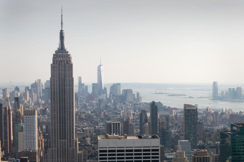 New York  Constant urban transformation